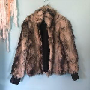 Jack by BB Dakota Fur Coat